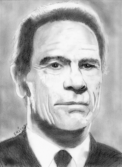 Tommy Lee Jones por rikou